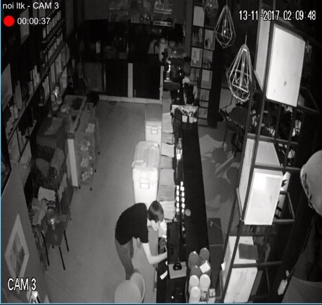 Một hình ảnh về tên trộm được trích xuất từ camera an ninh