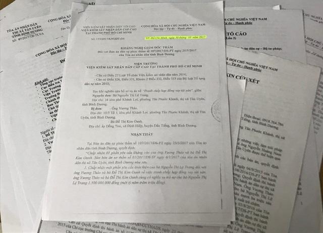 Quyết định khám nghị giám đốc thẩm của Viện KSND Cấp cao tại TP.HCM.