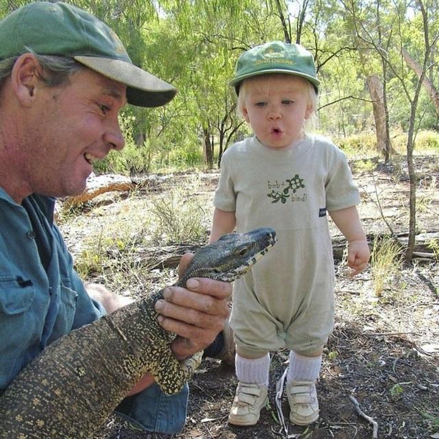 Ngay từ khi còn rất bé, Robert đã cho thấy niềm đam mê với thế giới hoang dã.
