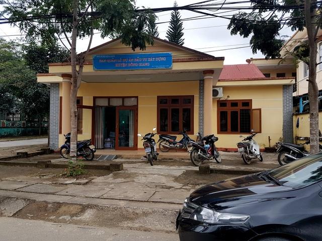 Trụ sở BQL dự án đầu tư xây dựng huyện Đông Giang