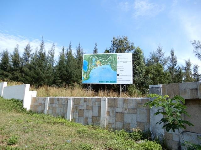 Đầu tiên là dự án Bai But Bay Resort của Công ty CP Hải Duy và Công ty CP Đầu tư & dịch vụ TP.HCM (Invesco) làm chủ đầu tư.