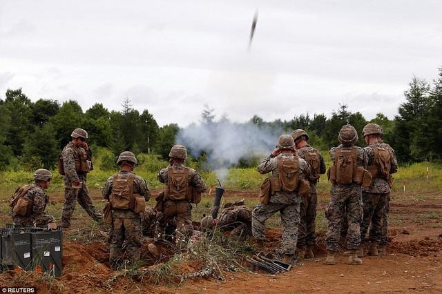 Cuộc tập trận được lên kế hoạch từ trước nhưng diễn ra trong bối cảnh căng thẳng leo thang tại khu vực bán đảo Triều Tiên.