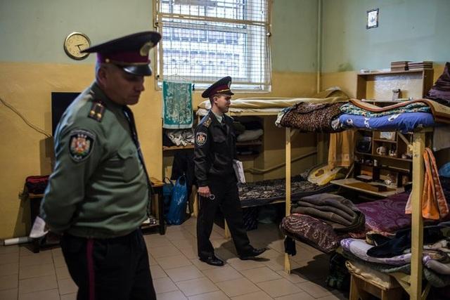 Phòng giam ông Ri Tae-gil (Ảnh: NYT)