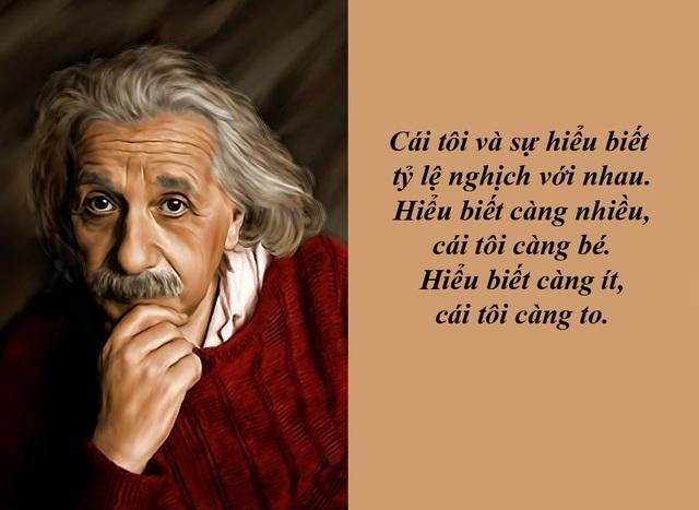 "20 câu nói ""bất hủ"" của thiên tài Albert Einstein - 20"