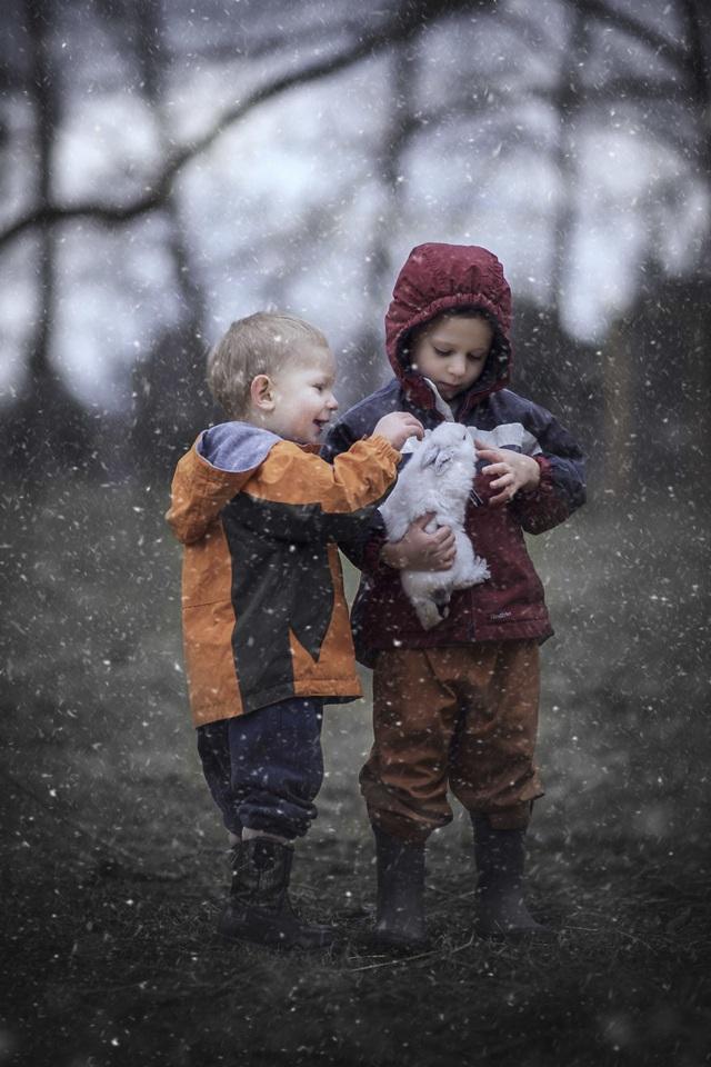 Bộ ảnh tuyệt đẹp về tuổi thơ trên nông trại - 9