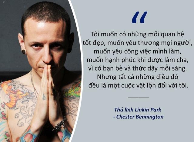 Xem thêm: Thủ lĩnh Linkin Park tự tử: Cuộc phỏng vấn cuối cùng hé lộ nội tâm buồn thảm