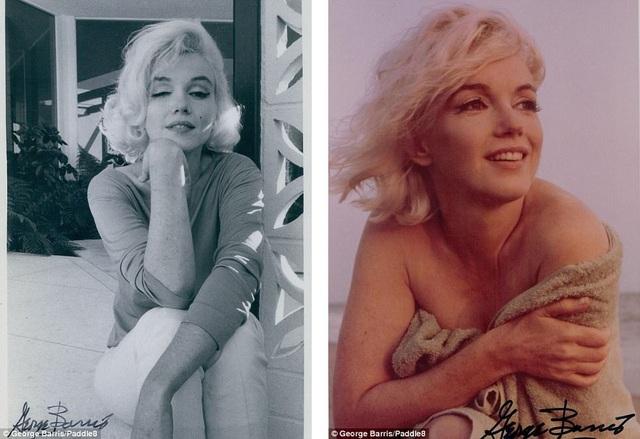 Những bức ảnh đưa lại những ấn tượng sau cùng về một nữ minh tinh huyền thoại ở thời điểm chỉ vài tuần trước khi người đẹp qua đời. Trong những bức ảnh, Marilyn vẫn đầy sức sống.