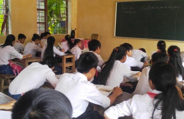 Sở GD-ĐT Thanh Hóa đã ban hành nhiều văn bản chấn chỉnh tình trạng dạy thêm, học thêm tại các đơn vị, trường học