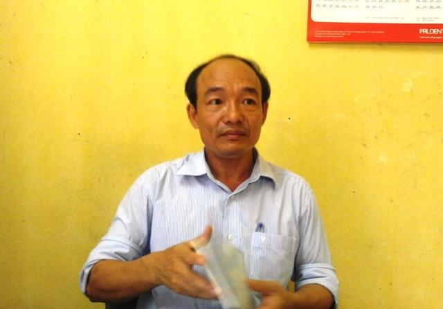 Ông Nguyễn Thọ Bình, hiệu trưởng trường THCS Bình Sơn có nhiều sai phạm trong công tác quản lý