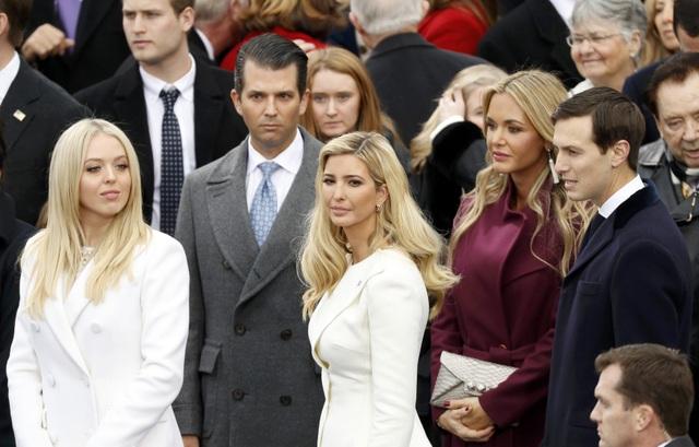 Tiffany (trái) là con gái của ông Trump với người vợ thứ 2. (Ảnh: Reuters)
