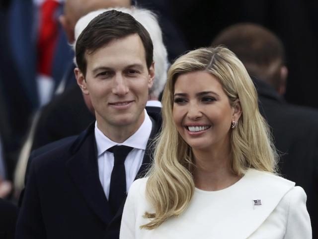 Ivanka và chồng, Jared Kushner. (Ảnh: Reuters)