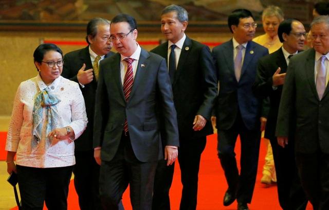 Bà Retno Marsudi, nhậm chức tháng 10/2014, cũng là nữ Ngoại trưởng đầu tiên của Indonesia. (Ảnh: Reuters)
