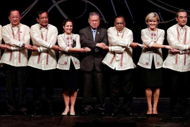 Ngoại trưởng các nước tại các hội nghị của ASEAN ở Manila, Philippines. (Ảnh: Reuters)