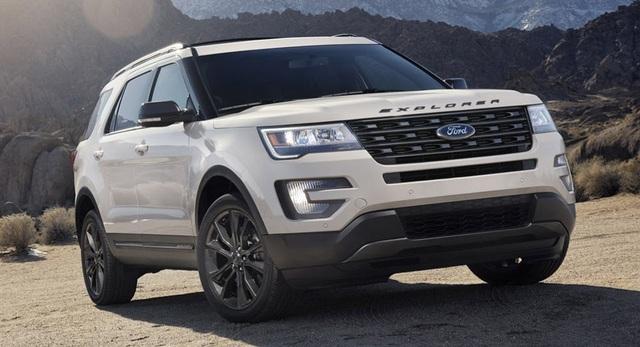 Ford triệu hồi xe Explorer - 1