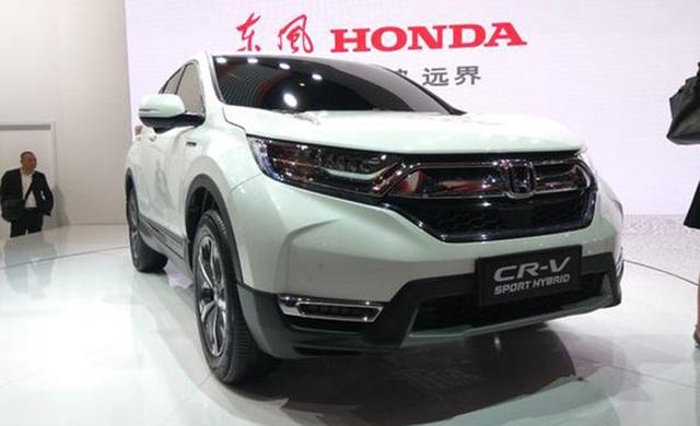 Honda CR-V có thêm bản hybrid - 3