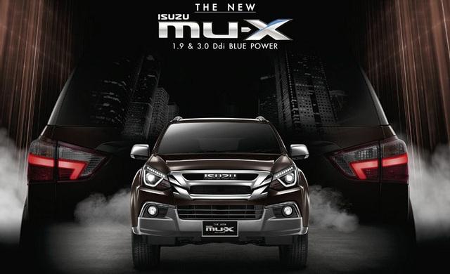 Isuzu chính thức giới thiệu mu-X phiên bản nâng cấp 2017 - 1