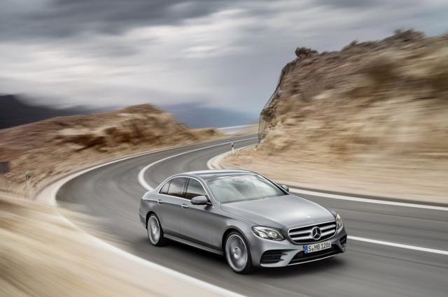 Xe sang của năm 2017: Mercedes-Benz E-Class