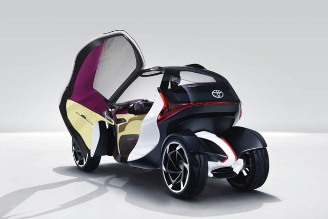 Toyota i-TRIL hướng tới tương lai - 5