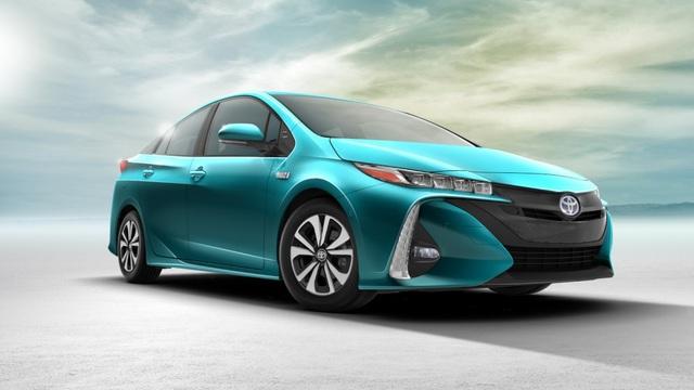 Xe xanh của năm 2017: Toyota Prius Prime
