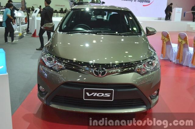 Cận cảnh Toyota Vios phiên bản nâng cấp 2017 - 25