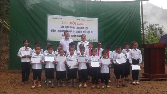 Khởi công xây dựng công trình phòng học Dân trí tại Điện Biên - 7