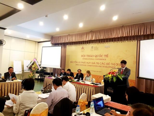 Hội thảo quốc tế bảo tồn và phát huy giá trị các đô thị di sản được tổ chức ngày 14/6 tại Hội An