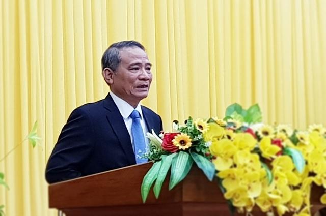 Ông Trương Quang Nghĩa mong Ban Chấp hành, Ban Thường vụ Đà Nẵng ủng hộ, trước mắt là cùng vượt qua khó khăn hiện nay, tiếp tục hoàn thành nhiệm vụ chính trị, kinh tế - xã hội của thành phố năm 2017.