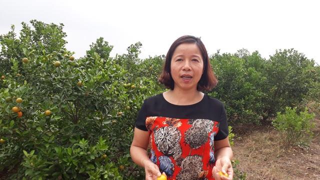 Bà Hoàng Thị Thu Hương - Cán bộ điều phối của Biotrade