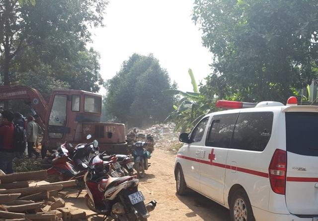 Bãi rác nơi tìm thấy xác trẻ sơ sinh