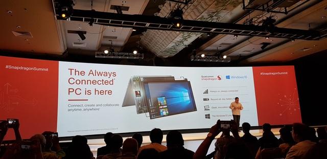Thế hệ máy tính luôn luôn kết nối sẽ sớm được bán ra thị trường.