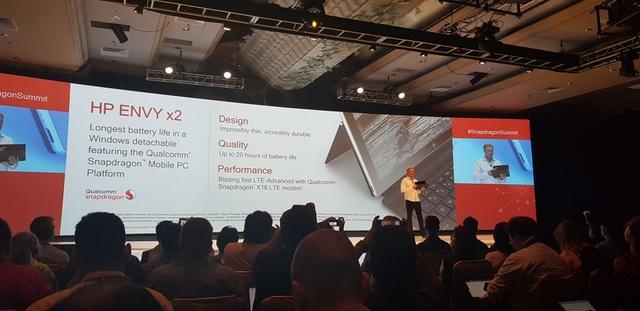 HP cũng chuẩn bị ra mắt laptop dùng chip Snapdragon đầu tiên.