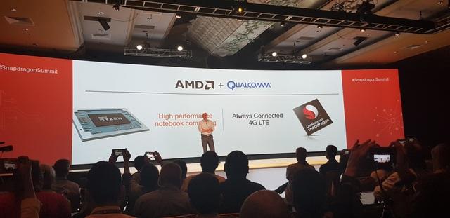 AMD bắt tay cùng Qualcomm để tăng hiệu năng cho các laptop luôn luôn kết nối.