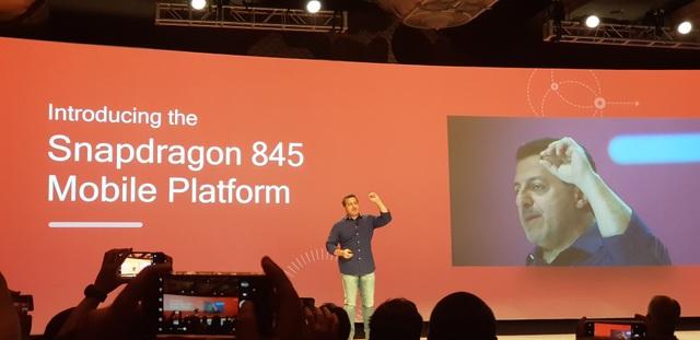 Qualcomm hé lộ về bộ vi xử lý di động thế hệ tiếp theo Snapdragon 845.