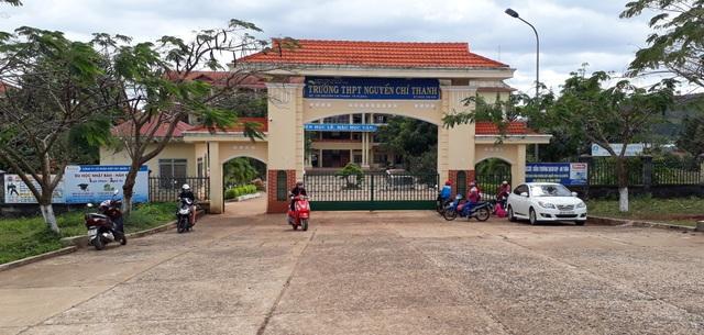 Trường Nguyễn Chí Thanh nơi Long đang theo học