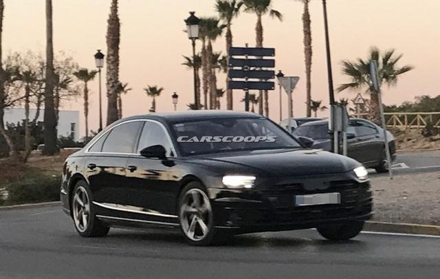 Audi A8 thế hệ mới chuẩn bị trình làng - 2