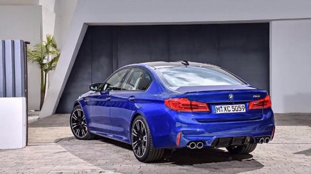 Rò rỉ hình ảnh BMW M5 thế hệ mới - 7