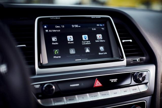 Hyundai Sonata 2018 phiên bản Mỹ ra mắt - 11