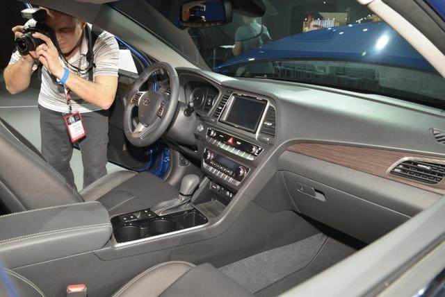 Hyundai Sonata 2018 phiên bản Mỹ ra mắt - 7