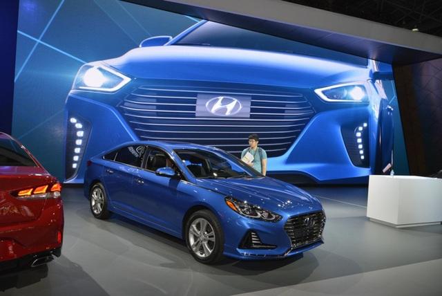 Hyundai Sonata 2018 phiên bản Mỹ ra mắt - 4