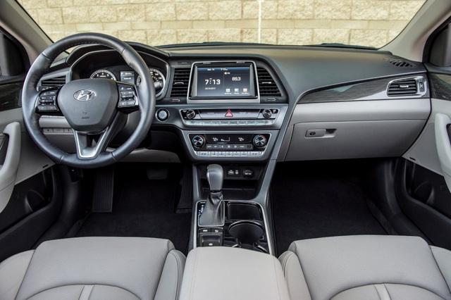 Hyundai Sonata 2018 phiên bản Mỹ ra mắt - 25