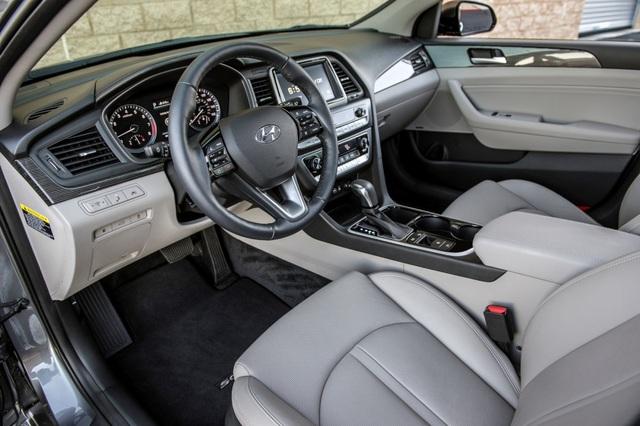 Hyundai Sonata 2018 phiên bản Mỹ ra mắt - 17