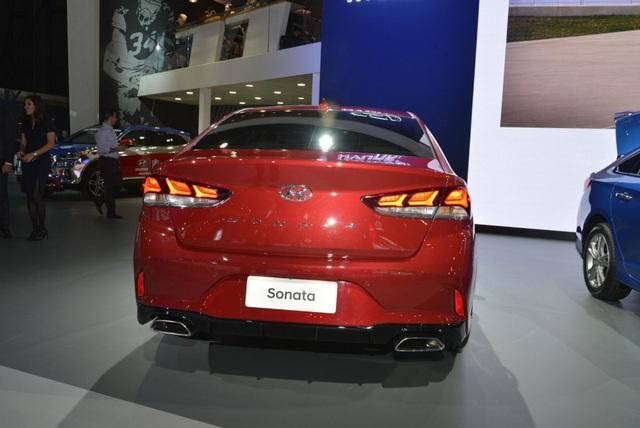 Hyundai Sonata 2018 phiên bản Mỹ ra mắt - 9