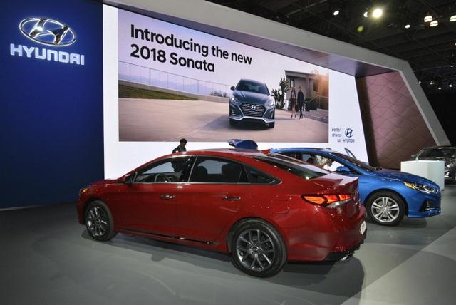 Hyundai Sonata 2018 phiên bản Mỹ ra mắt - 8