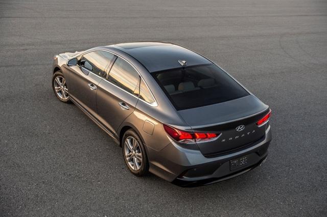 Hyundai Sonata 2018 phiên bản Mỹ ra mắt - 28