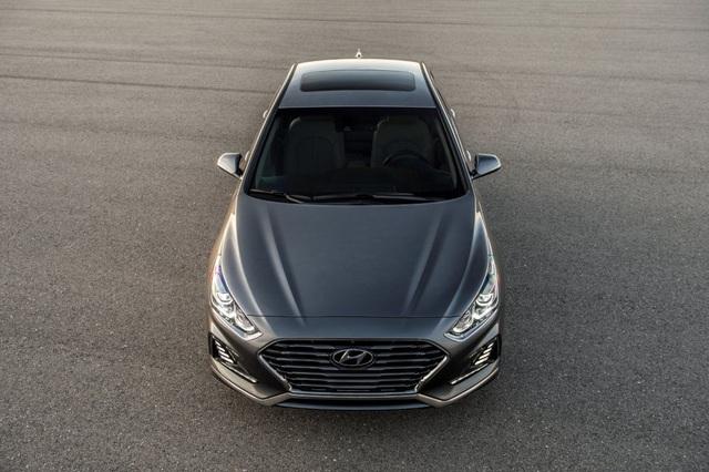 Hyundai Sonata 2018 phiên bản Mỹ ra mắt - 13