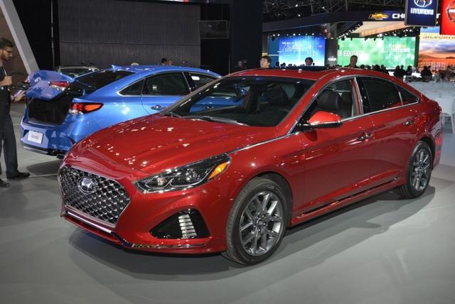 Hyundai Sonata 2018 phiên bản Mỹ ra mắt - 3