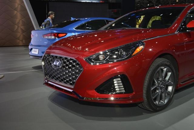 Hyundai Sonata 2018 phiên bản Mỹ ra mắt - 2