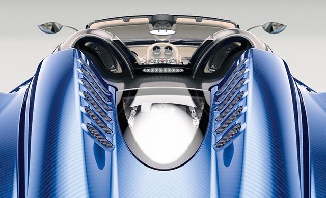 Siêu xe Pagani Huayra Roadster chưa ra mắt đã hết hàng - 12