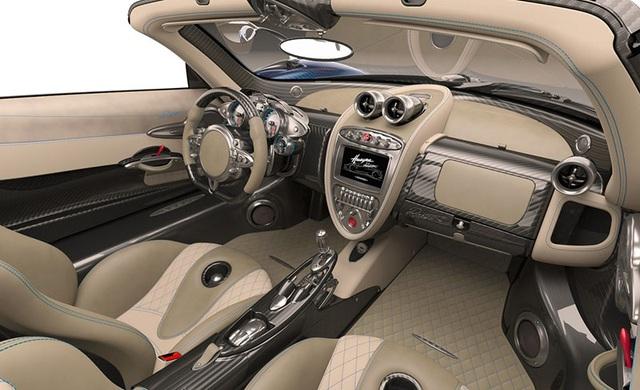 Siêu xe Pagani Huayra Roadster chưa ra mắt đã hết hàng - 9