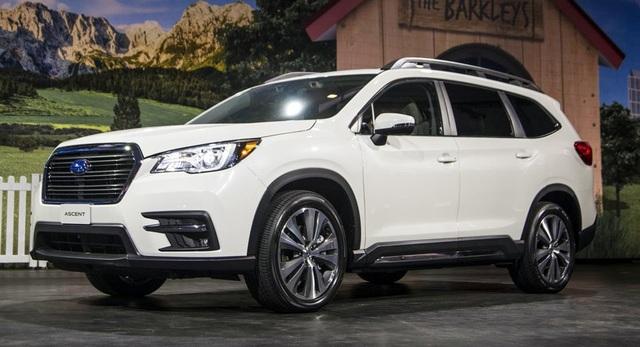 SUV lớn nhất của Subaru chính thức ra mắt - 1